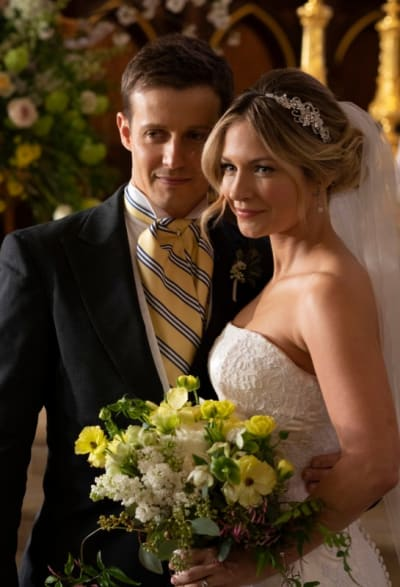 Tall jamie and eddies wedding day blue bloods s9e22