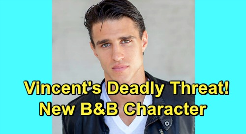 The bold and the beautiful spoilers vincent walker deadly threat
