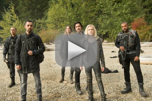 The first arrivals the 100
