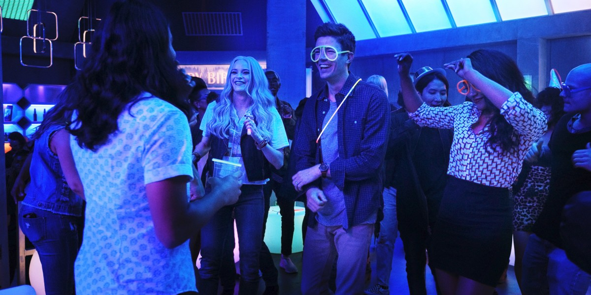 The flash 6x03 party