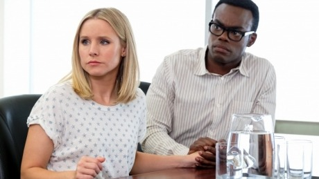 The good place season 3 episode 11 chidi sees the time knife 0