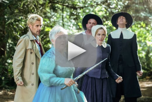 The salem witch trials dcs legends of tomorrow
