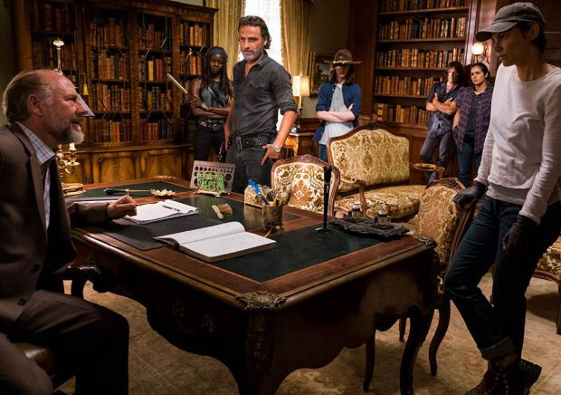 The walking dead episode 709 rick lincoln maggie cohan 935