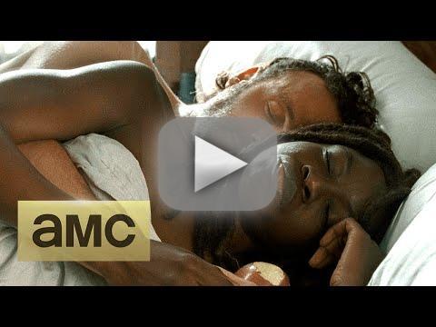 The walking season 6 episode 15 sneak peek richonne in bed