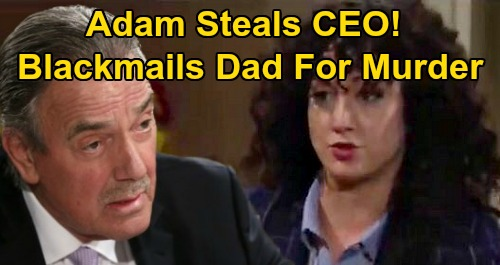 The young and the restless spoilers victor newman eric braeden alyssa montalvo maria didomenico yr
