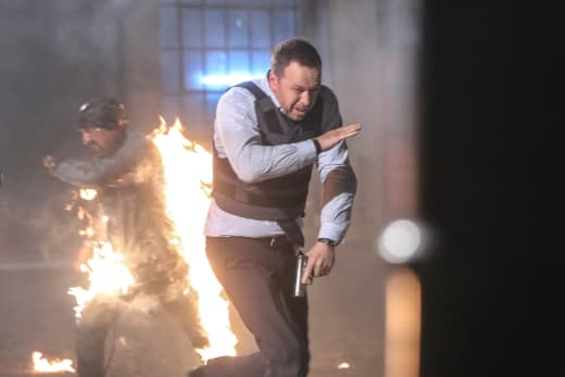 Things heat up blue bloods
