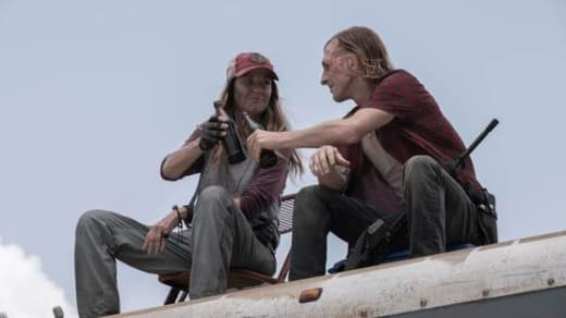 Unexpected foes fear the walking dead