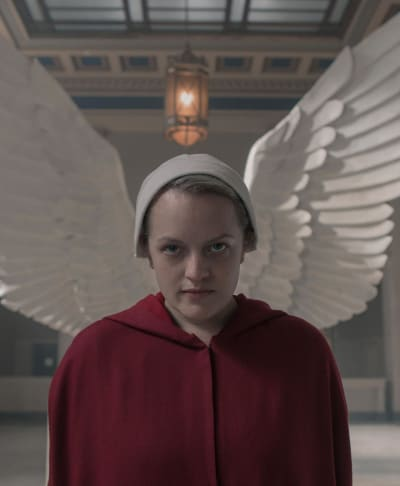Wings of protection the handmaids tale