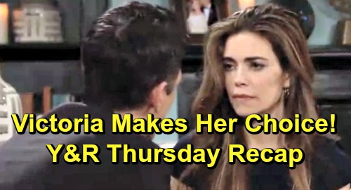 Young and the restless spoilers thursday april 18