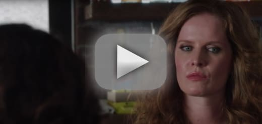 Zelena is frightened once upon a time