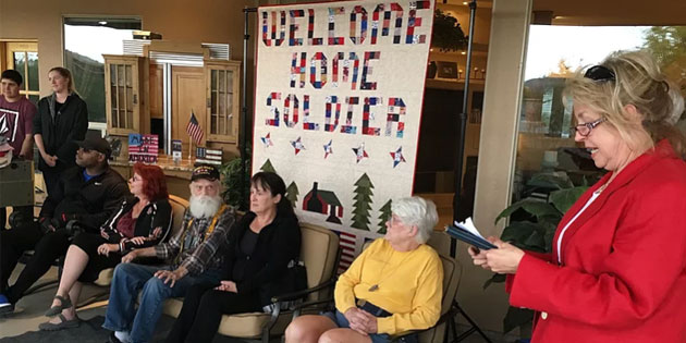 Veterans Receive Quilts of Valor in Ceremony & Celebration