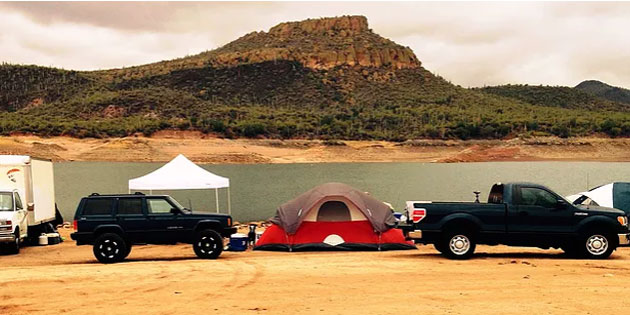 Veteran's Camping & Fishing Trip with RecFX & ACCA