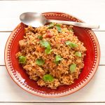 Salsa Rice | Gluten-free, low-sodium, vegan