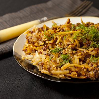 Fennel Potato Chorizo Hash