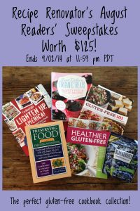August 2014 Readers Sweepstakes Prize | Recipe Renovator | Ends 9/2/14 at 11:59 PM PDT