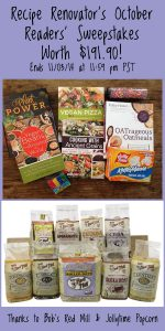 October 2014 Readers' Sweepstakes on Recipe Renovator