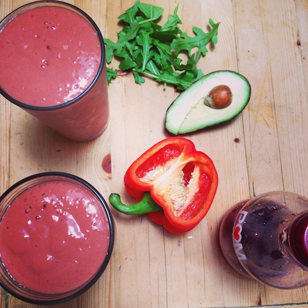 Pomegranate Slam-It Test | from The Blender Girl Smoothies app