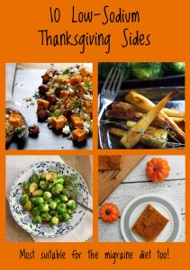 10 Low Sodium Thanksgiving sides | Recipe Renovator
