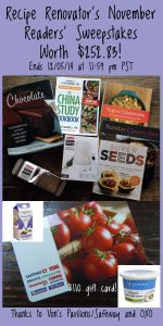 November 2014 readers sweepstakes | Ends 12/5/14 at 11:59 PM PST