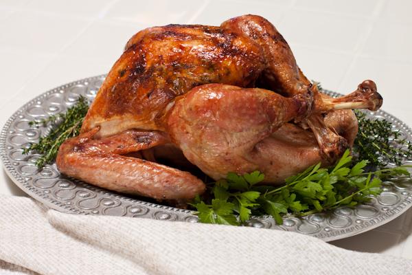 How to roast a turkey | Low-sodium herb-roasted turkey on Recipe Renovator