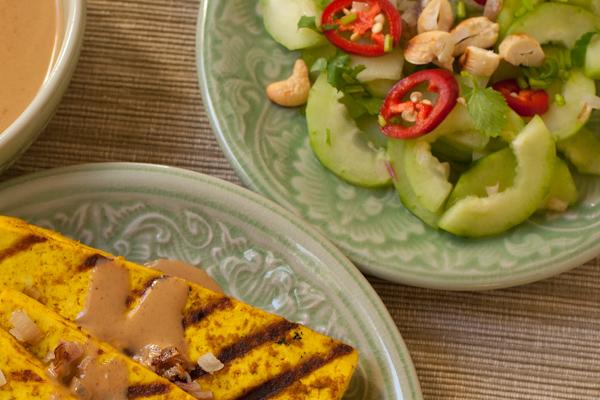 Spicy Thai cucumber salad | Recipe Renovator