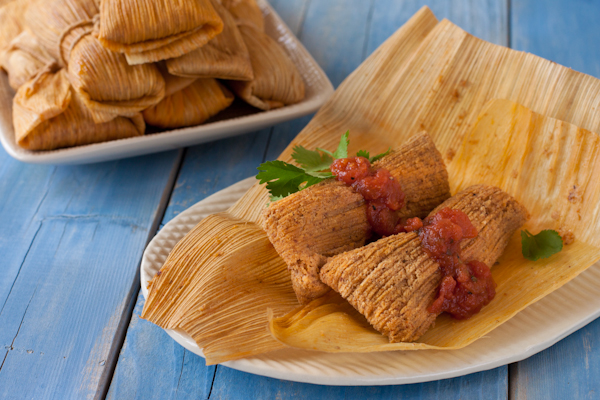 Paleo tamales by Recipe Renovator | Grain-free, gluten-free, low-sodium, migraine-friendly