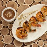 Blood Orange Glazed Grilled Shrimp | Gluten-free | Recipe Renovator