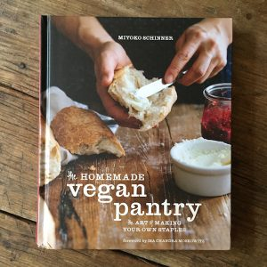 Cookbook review | Homemade Vegan Pantry by Miyoko Schinner | Recipe Renovator