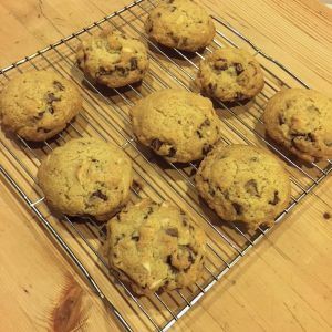 Chocolate chip cookies from Gluten-Free Wish List by Jeanne Sauvage | Recipe Renovator cookbook review