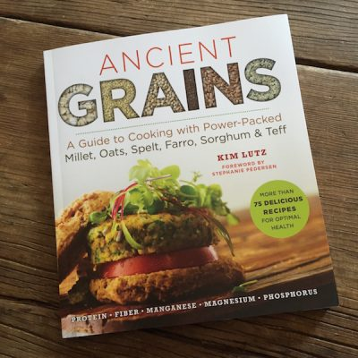 Review of Ancient Grains by Kim Lutz on Recipe Renovator | 75 plant-based recipes