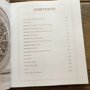Review of Ancient Grains by Kim Lutz on Recipe Renovator   75 plant-based recipes
