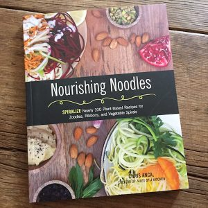 Review of Nourishing Noodles by Chris Anca, with 100 plant-based recipes