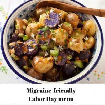 Migraine-friendly Labor Day menu