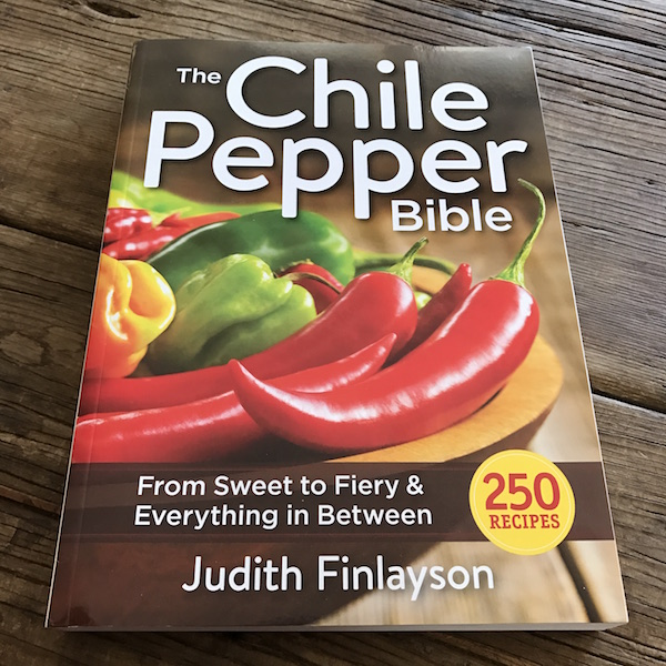 Recipe Renovator review: The Chile Pepper Bible by Judith Finlayson