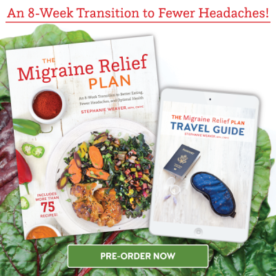 The Migraine Relief Plan Travel Guide available now with pre-order purchase (through February 13, 2017 only!)