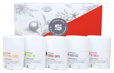 Schmidts' Deodorant Travel Size 5 Pack