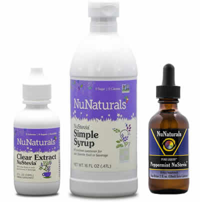 NuNaturals stevia collection