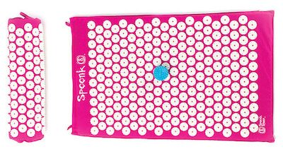 Spoonk Mat combo set provides natural acupressure relaxation