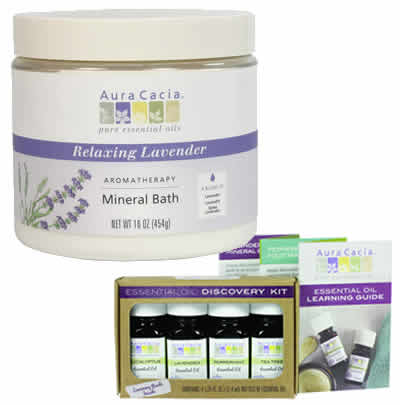 AuraCacia essential oil products