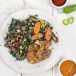 Maple-sesame glazed chicken from The Migraine Relief Plan by Stephanie Weaver (Surrey Books)