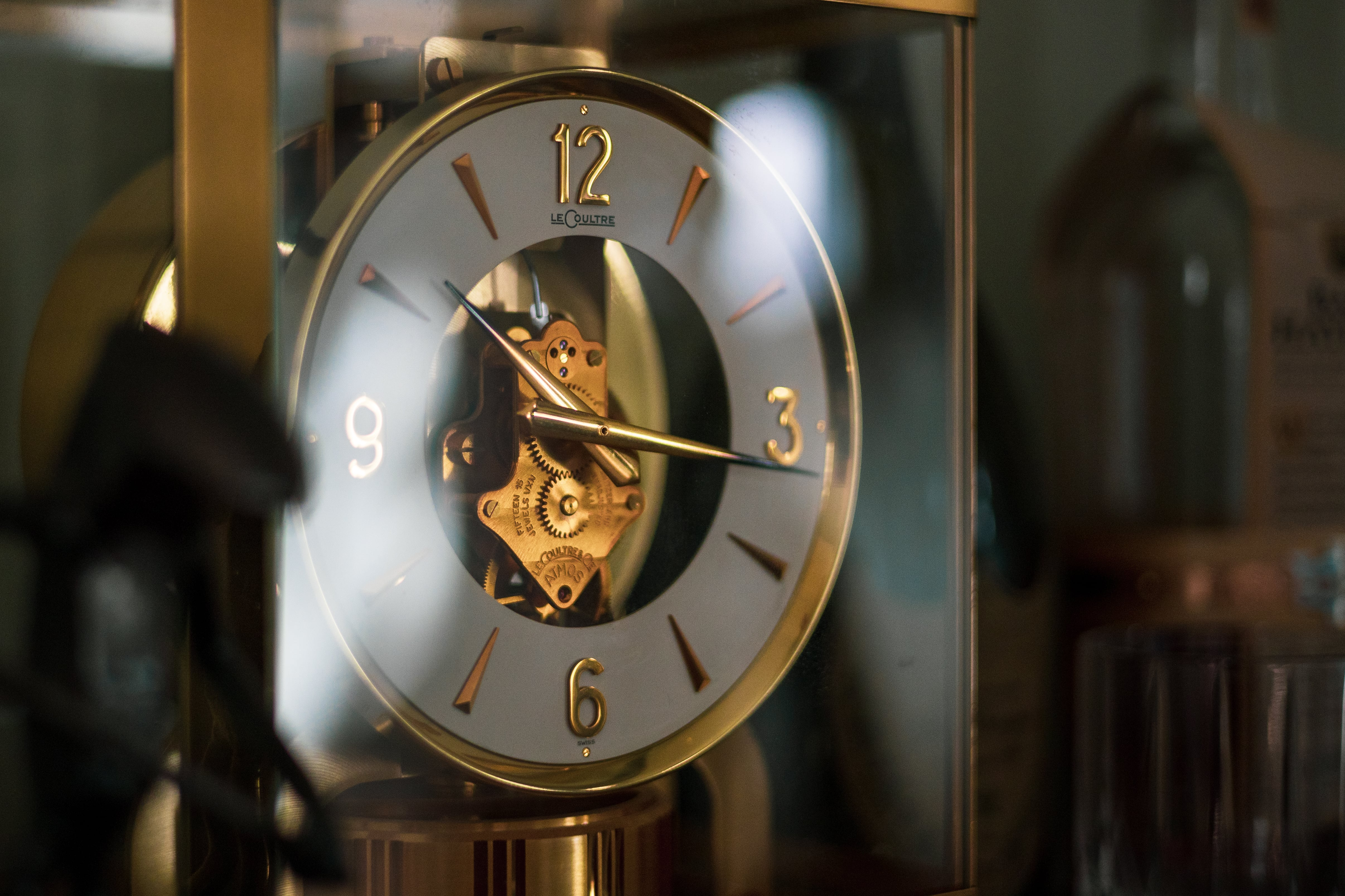 Image of my personal Jaeger-LeCoultre Atmos Clock