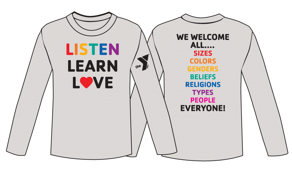 Our Diversity and Inclusion commitment. Listen Learn Love. We welcome all sizes, colors, beliefs, titles, people. Everyone!