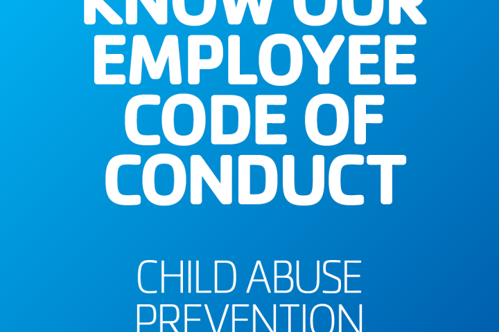 Know our employee code of conduct for child abuse prevention CAPM