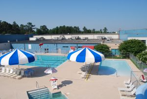 Outdoor Pool and water park at the Wilson Family YMCA open for summer fun open swim