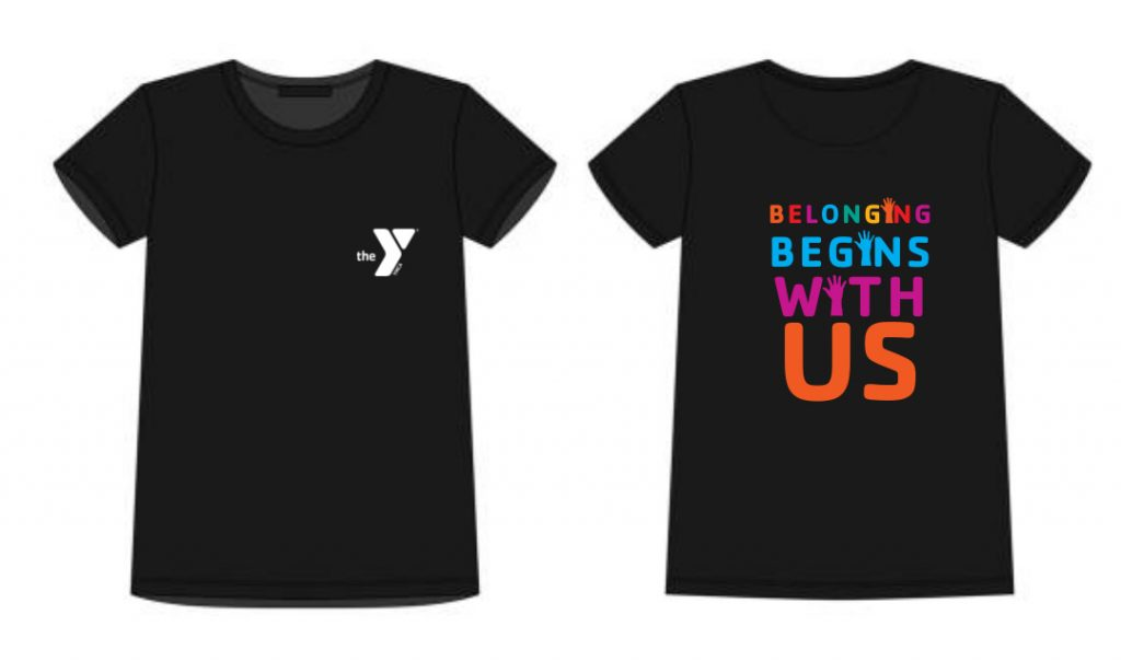Belonging Begins With Us T shirt Proof