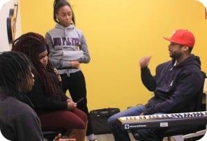 Teen Center Music Lesson