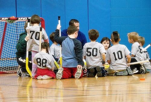Floor Hockey Class