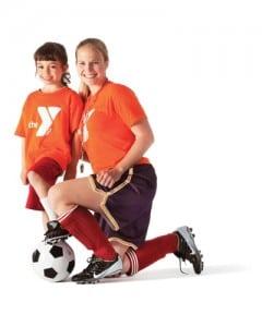 Coach girl soccer