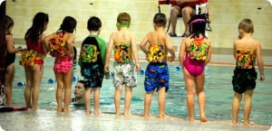 Kids Swimming Lessons Rounded