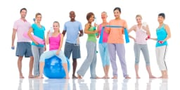 Fitness Class Image